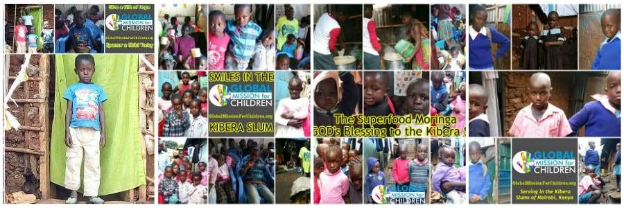 child sponsorship kibera slum kenya Christian