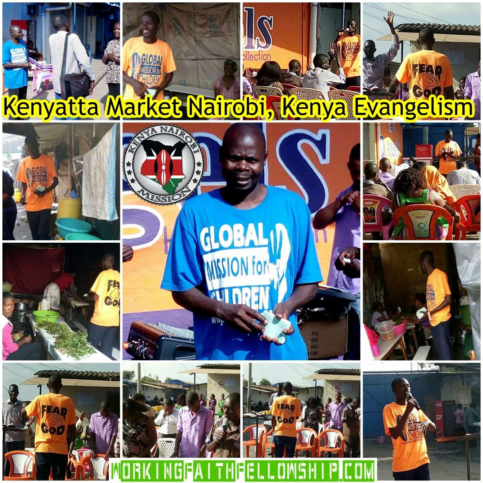 Kenyatta Market Evangelism WFF GMFC