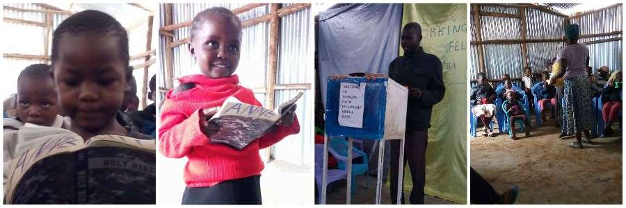 Christians in Kibera Slum Kenya Sponsor a Child