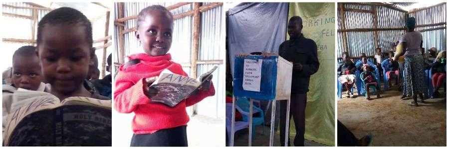 Christians in Kibera Slum Kenya Sponsor a Child