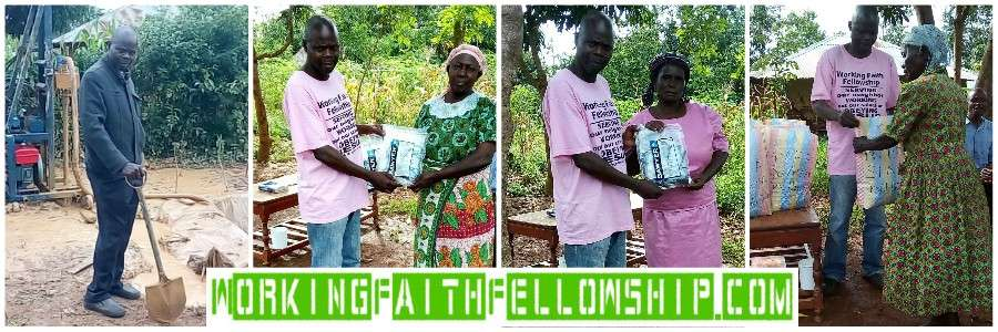 water filter well widow thanks siaya sega kenya world vision compassion international donate children sponsorship sponsor