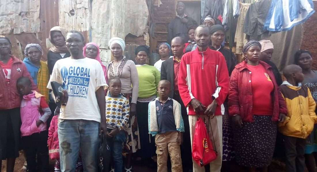 kibera slum kenya donate world vision compassion international