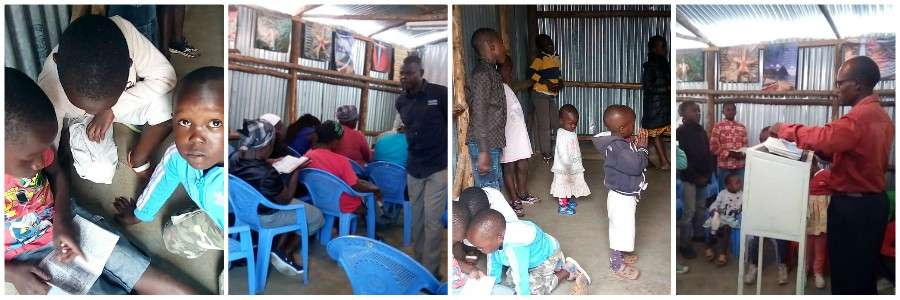 Christian kibera GMFC World Vision Compassion INternational sponsor child