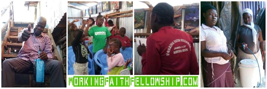 Christian kibera working faith fellowship World Vision Compassion INternational