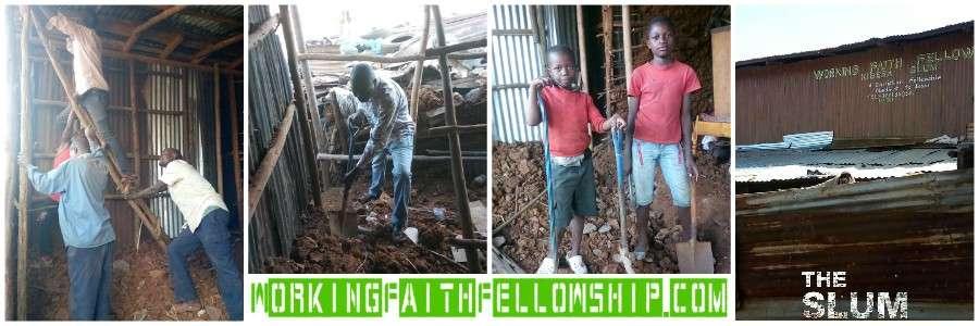 3 huts kibera slum banner update