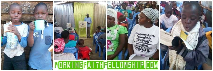 GMFC WFF Kibera Slum World Vision International Compassion Hungry