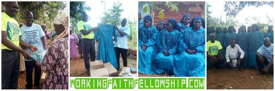 Widow New Dresses Siaya Kenya Sega Kibera Collage