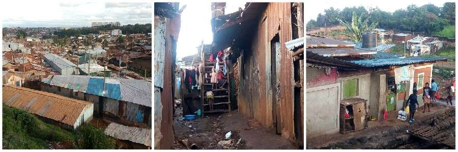 kibera slum gmfc kenya collage