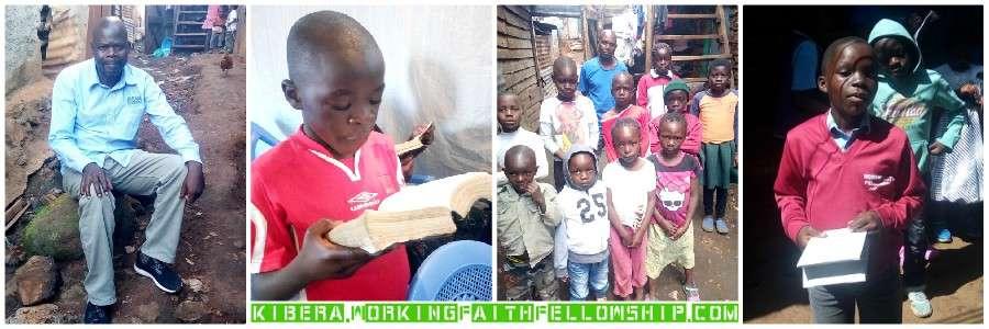 Kibera Slum GMFC WFF Banner