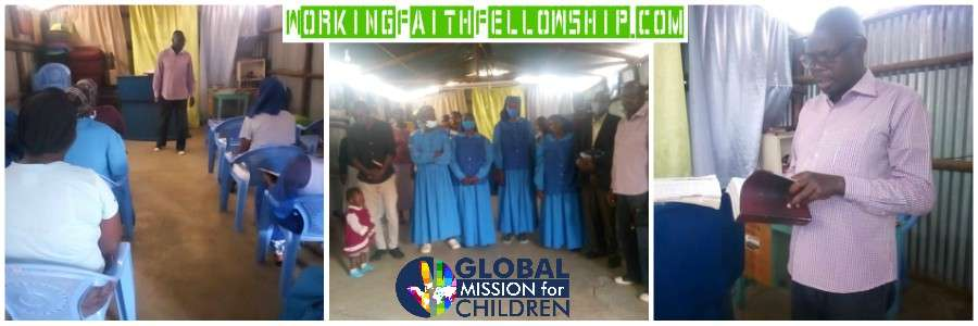 GMFC WFF Kibera Slum Fellowship bro Joseph Collage