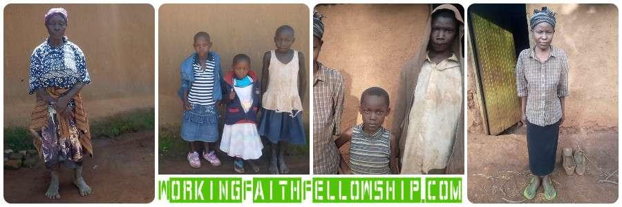 2 Impoverished Widows in Kenya need help poor Jesus Christian