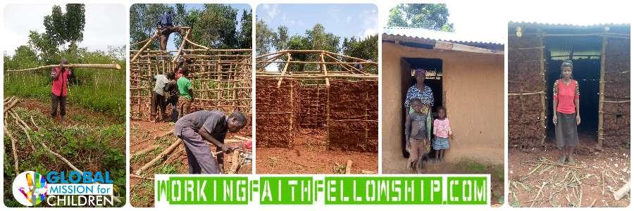 Working faith 2 Widows Homes Siaya Kenya 5-2021